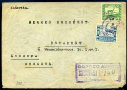 BOLIVIA 1939. Légi Levél Budapestre Küldve - Bolivie