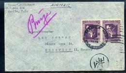 FÜLÖP SZIGETEK 1938. Légi Levél Budapestre - Philippinen