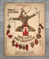 Lehár, Franz [1870–1948]: Das Land Des Lächelns / A Mosoly Országa / 1929. Kottafüzet - Unclassified