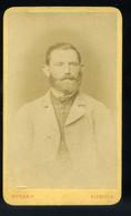 SZEGED 1875. Ca. Bietler : Férfi, Visit Fotó - Unclassified