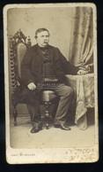 PEST 1867-70. Ca. Canzi és Heller : Deák Ferenc , Visit Fotó - Unclassified