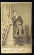 PEST 1860-65. Barabás és Fájth : Lendvay Márton (színművész, 1830–1875), Visit Fotó - Unclassified