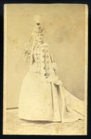 DEBRECEN 1870-75. Ca. Gondy és Egey : Blaha Lujza Színésznő, Visit Fotó - Unclassified