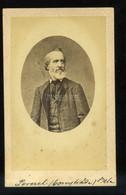 Perczel Béla 1819-1888. Magyar Jogász, A Kúria Elnöke, Szabadelvű Párti Politikus, Miniszter Visit Fotó - Unclassified
