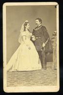 PEST Gévay 1865. Ca. Pár,  Visit Fotó - Unclassified