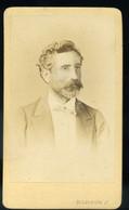 PEST 1865-70. Borsos : Férfi, Visit Fotó - Unclassified
