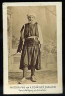 BOSZNIA 1891. Török Férfi,, Visit Fotó - Unclassified