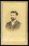 ÚJVIDÉK 1870-75. Ca. Reisz : Férfi, Visit Fotó - Unclassified