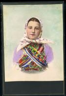RÁKOSPALOTA 1920. Ca. Gyümölcsárus, Régi Cabinet Fotó - Unclassified