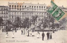 Toulon          83        Place De La Liberté.  Nourrices     N° 90     (voir Scan) - Toulon