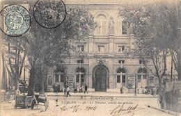 Toulon          83        Le Théâtre.  Entrée Des Artistes     N° 48     (voir Scan) - Toulon