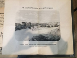 BUDAPEST 1894. Közegészségi és Demográfiai Kongresszus, Saxlehner, Hunyadi Keserűvíz Forrástelepe, Fotónyomat. Klösz, 34 - Unclassified