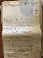 MARCALTŐ 1796. Szerződés Gróf Amadé Antal és Nemes Argay András Aláírásaival - Unclassified