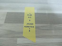 Merksem Lintje Uit Satijnstof OLSE A.C. Jeugd Komitée - Altri