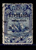 ! ! Lourenco Marques - 1913 Vasco Gama On Macau 5 C - Af. 105 - Used - Lourenco Marques