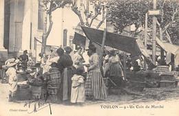 Toulon          83         Un Coin Du Marché        N° 9    (voir Scan) - Toulon