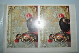 Espagne 2000 Feuillets Charles Quint MNH - Blocks & Sheetlets & Panes
