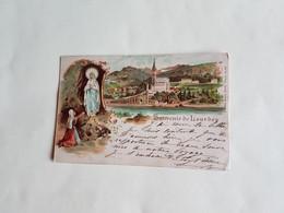 TRES  BELLE  CARTE  KUNZLI  N°  401   LOURDES   65 - Lourdes