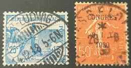 N° 151/264  Avec Oblitération Cachet à Date Centrale De 1918/1930  TB - Used Stamps