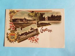 TRES  BELLE  CARTE  KUNZLI  N°  1181  CHANTILLY  60 - Chantilly