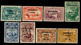 ! ! Congo - 1913 Vasco Gama On Africa (Complete Set) - Af. 75 To 82 - MH - Portugiesisch-Kongo