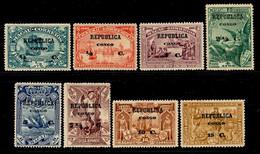 ! ! Congo - 1913 Vasco Gama On Macau (Complete Set) - Af. 83 To 90 - MH - Portugiesisch-Kongo