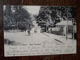 L35/360 MONDORF-LES-BAINS - BAD MONDORF - ENTREE Du PARC - Mondorf-les-Bains