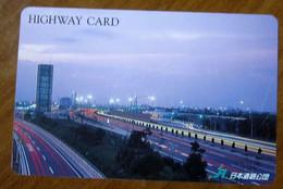 GIAPPONE Ticket Biglietto Pedaggio  Città Highway Card  - Usato - Other