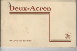 Lessines - DEUX ACREN - Carnet (très Rare) 7 Cartes - Lessines