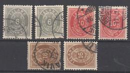 Island , 6 Klassische Marken , Michel Ca 150 .- - Used Stamps