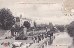 Montbard - L'Hôpital Sur Les Bords De La Brenne - CAD Genlis (21) - Animée Ecluse - Montbard