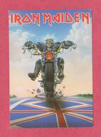 Iron Maiden, Don't Walk- Heavy Metal Band-  Standard Size, Divided Back, New. Ed. Helloween Ltd N° RG3. - Música Y Músicos