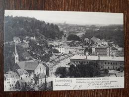 L35/362 LUXEMBOURG - PFAFFENTHAL VU DE LA ROUTE D'EICHEN - Luxemburg - Town