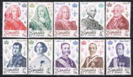 Serie Completa Reyes De España 1978, Num 2496 - 2505 ** - 1971-80 Unused Stamps