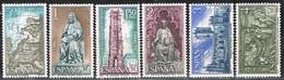 Serie Completa ESPAÑA 1971. Año Santo Compostelano, Num 2008-2013 ** - 1971-80 Unused Stamps