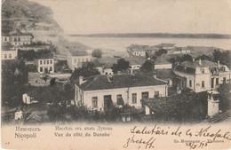 BULGARIE, BULGARIA, NICOPOLI, NIKOPOL, Vue Du Cote Du Danube, Original Old Postcard, Posted 1905 - Bulgaria