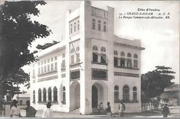CPA-1920-COTE D IVOIRE-GRAND BASSAM-Banque Commerciale Africaine-Edit Bloc Freres-TBE - Côte-d'Ivoire