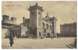 DEUTSCHLAND - SAARBRÜCKEN - Bahnhof - 1913 - Saarbruecken