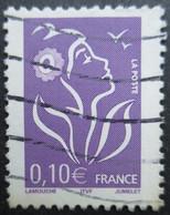 FRANCE Marianne De Lamouche N°3732a Légende ITVF Type II Fleur Blanche Oblitéré - 2004-08 Marianne Van Lamouche