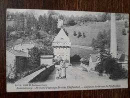 L35/363 Luxembourg . Frühere Festungs Brücke Pfaffenthal . Ancienne Forteresse De  Pfaffenthal - Luxemburg - Town