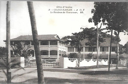 CPA-1920-COTE D IVOIRE-GRAND BASSAM-Résidense Du Gouverneur-Edit Bloc Freres-TBE - Côte-d'Ivoire