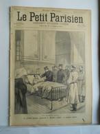 LE PETIT PARISIEN N°336 - 14 JUILLET 1895 - GENERAL SAUSSIER POMPIER GARBEZ - INCENDIE DES ATELIERS GODILLOT - 1850 - 1899