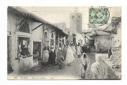 Tunisie Tunis Souk Des Armes  1908 - Tunisie