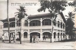 CPA-1920-COTE D IVOIRE-GRAND BASSAM-Le Commissariat De Police-Edit Bloc Freres-TBE - Côte-d'Ivoire