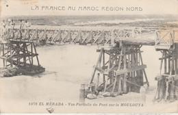 Maroc - EL MERADA - Vue Partielle Du Pont Sur La Moulouya - Autres