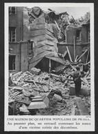1940  --  POLOGNE . VARSOVIE UNE MAISON DU QUARTIER DE PRAGA BOMBARDé . 3V581 - Unclassified
