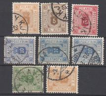 Island , 8 Klassische Dienstmarken , Michel über 100 .- - Used Stamps