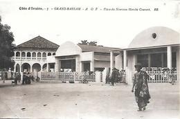 CPA-1920-COTE D IVOIRE-GRAND BASSAM-Place Du Nouveau Marché Couvert-Edit Bloc Freres-TBE - Côte-d'Ivoire