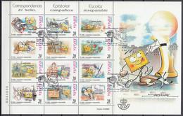 ESPAÑA 1999 Nº 3665/76 (MP-66) USADO PRIMER DIA - 1991-00 Used