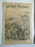 LE PETIT PARISIEN N°339 - 4 AOUT 1895 - INSURRECTION A CUBA  - EXPLOSION CANON DANS LA HUNE DE MISAINE DE BOUVINES - 1850 - 1899